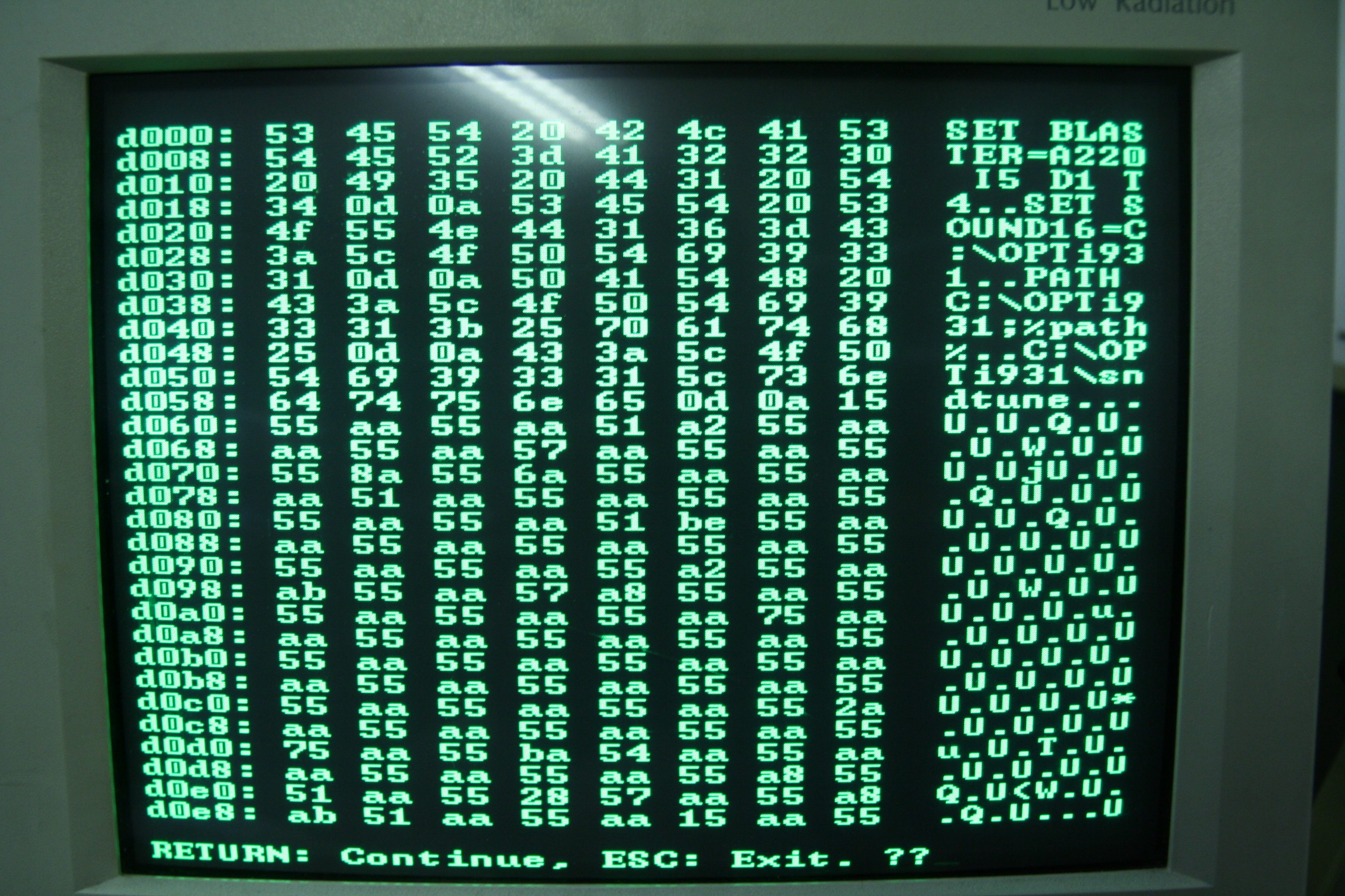 8 Bit Computer From Scratch The Making Of Source Http Wwwelectronicscircuitscom Cirdir Data Printerport Now Lets Change First 3 Letters Set Into Abc And Save Modified A New File Called Autoexecbak